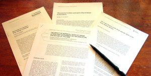 انواع مقالات و چاپ مقاله تضمینی